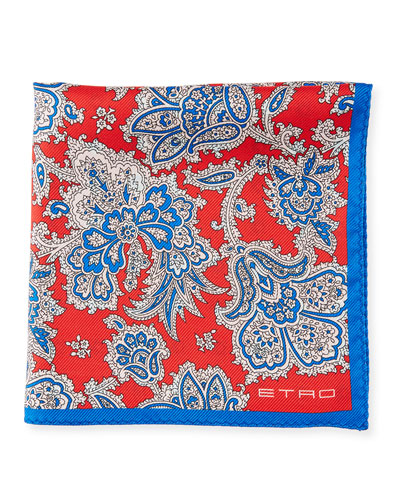 Etro Pochette Jamul Silk Pocket Square
