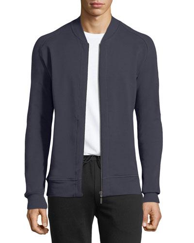 Living Zip-Front Knit Jacket