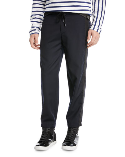 004560fbc0c Drawstring Waist Tapered Pants