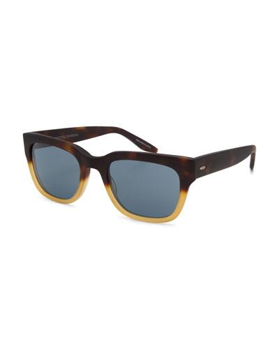 Stax Rectangular Acetate Sunglasses