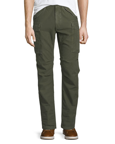 Army Straight-Leg Cargo Pants