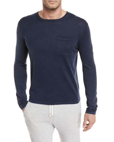 Chest-Pocket Long-Sleeve T-Shirt
