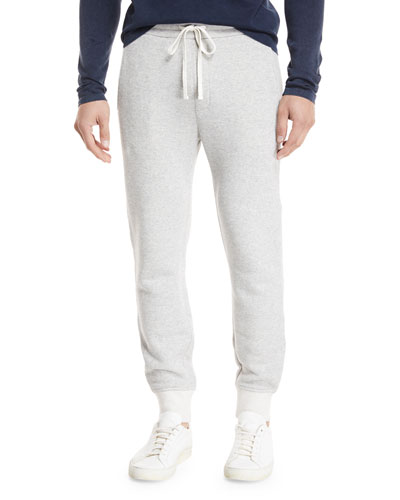 Plush Cotton Sweatpants