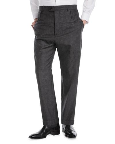 46d910b4ebb2 Mens High Waist Trousers | bergdorfgoodman.com