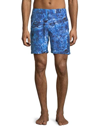 Maui 2 Modern-Fit Swim Trunks