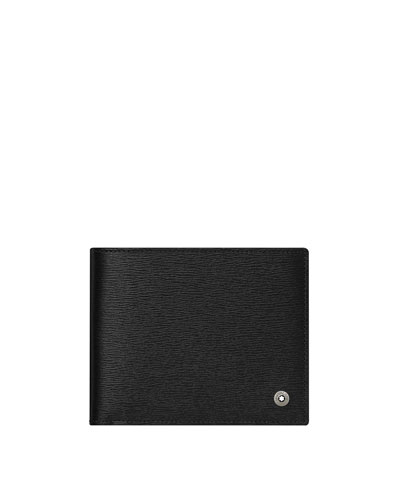 4810 Westside Leather Bifold Wallet, Black