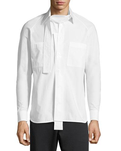 Camicia Manica Lunga Poplin Shirt