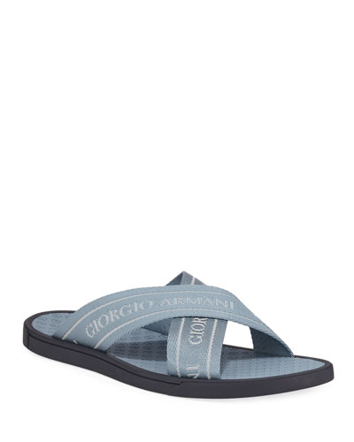 9e5ba7e202cf3 Men s Logo Jacquard Thong Sandals