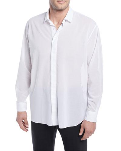 Lightweight Oversize Cotton Shirt