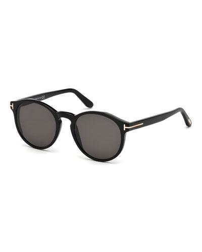Ian Round Acetate Sunglasses
