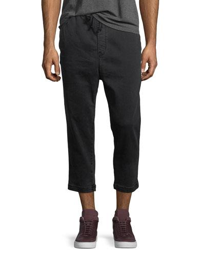 e2f28ef5a5a Men s Leo Drop-Crotch Drawstring Pants