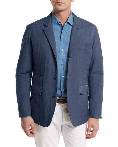New Cloudy Quilted Blazer Jacket
