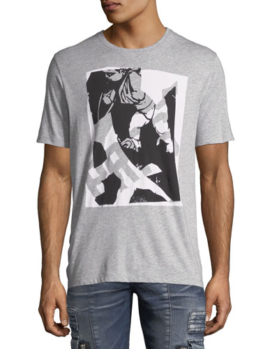 Abstract Logo Graphic T-Shirt