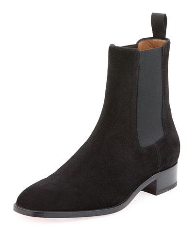 Men's Samson Suede Boot, Black