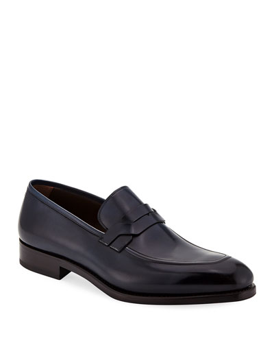 Men's Backer Braided Leather Loafer