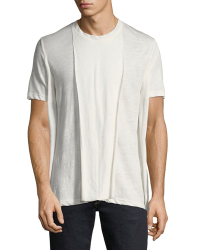 Men's Buri Raw-Edge T-Shirt