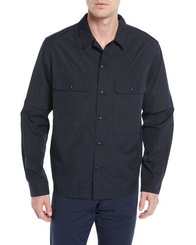 Men's Twill Shirt Jacket