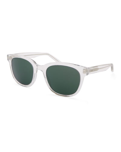 Men's Thurston Plastic Square Sunglasses