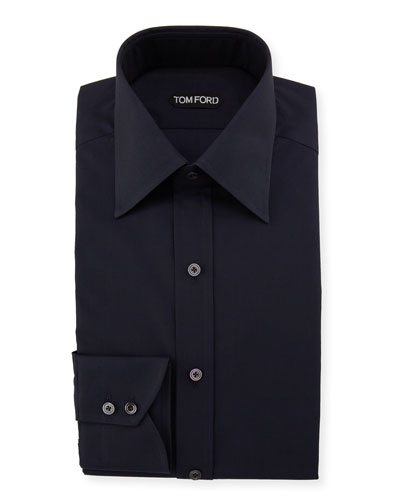 Men's Solid Dress Shirt