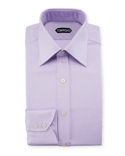 Men's Houndstooth Dress Shirt