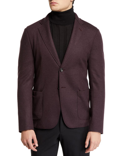 Men's 91 Deconstructed Double-Face Two-Button Jacket
