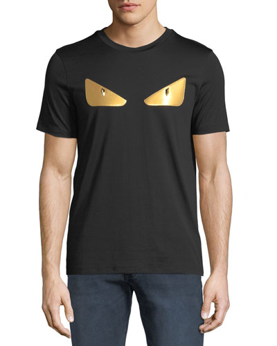 Men's Gold Bugs Appliqué T-Shirt