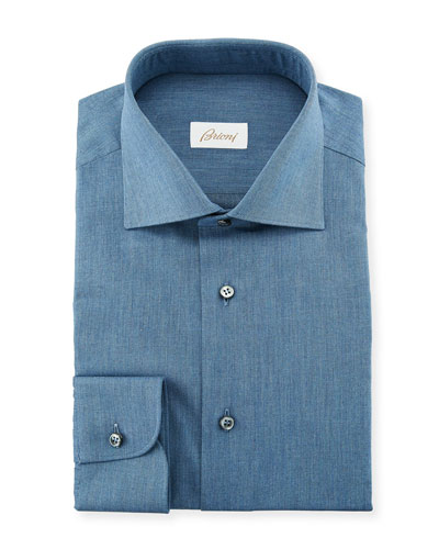Men's Chambray Dress Shirt