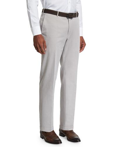 5fff280df Men s Flat-Front Cashmere Trousers