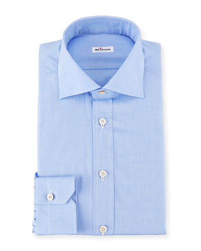 Broadcloth Dress Shirt, Blue