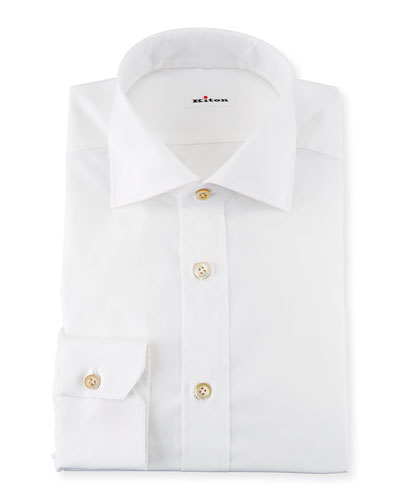 Broadcloth Dress Shirt, White