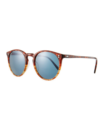 19c3a2e125 Men s O Malley Peaked Round Photochromic Sunglasses Quick Look. Oliver  Peoples