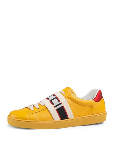 0db9d168c588 Gucci Mens Rubber Sole Shoes