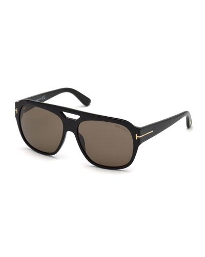5b3b9c4516bb Tom Ford Acetate Mens Sunglasses. Men s Square Acetate Sunglasses