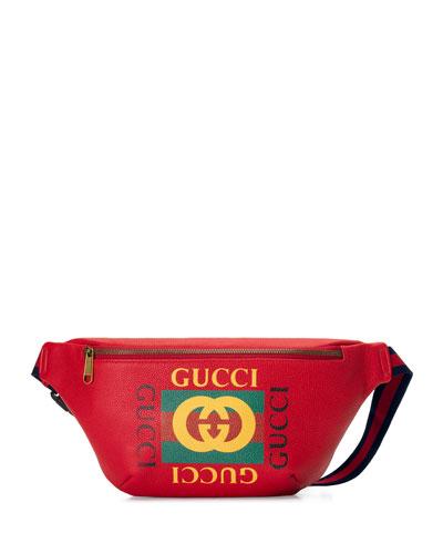 71c057a24de Retro GG Logo Belt Bag Fanny Pack