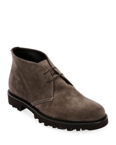 Men's Suede Chukka Boot