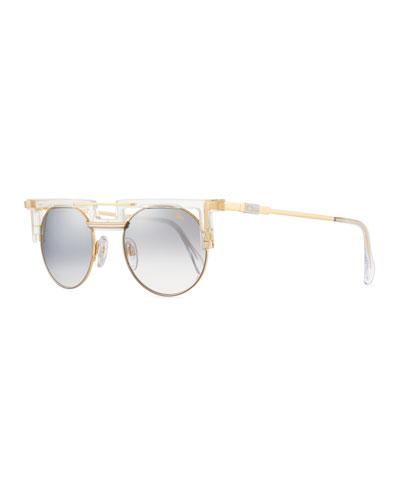 5ab240af0d4 Men s Round Gradient Acetate Metal Sunglasses Quick Look. Cazal