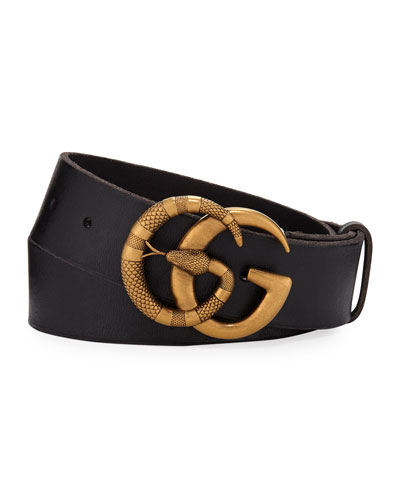 09ca2823f Men's Cuoio Toscano Snake GG Belt Quick Look. Gucci