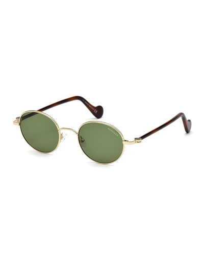 abfaac3c32c Round Gold Metal Sunglasses