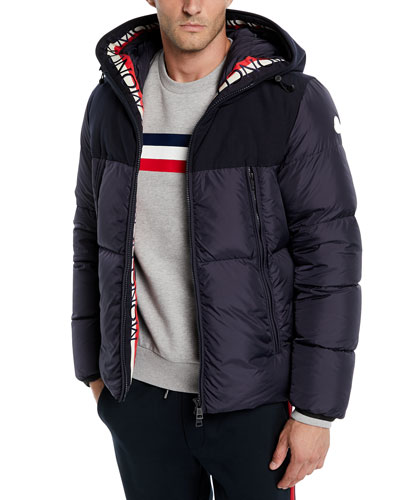 moncler black winter jacket