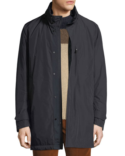0bf20e9ad0df4d Men's Daumeray Snap-Front Utility Jacket Quick Look. Moncler