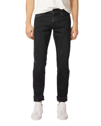 Men's Tyler Taper-Fit Jeans, Bosco