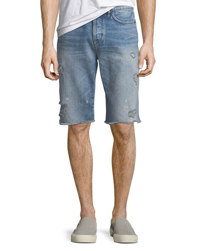 Men's Dixon Distressed Shorts