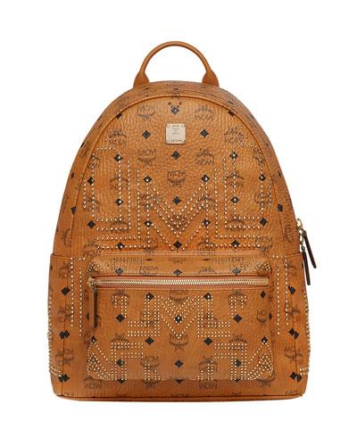 Men's Stark Gunta Medium Studded Backpack