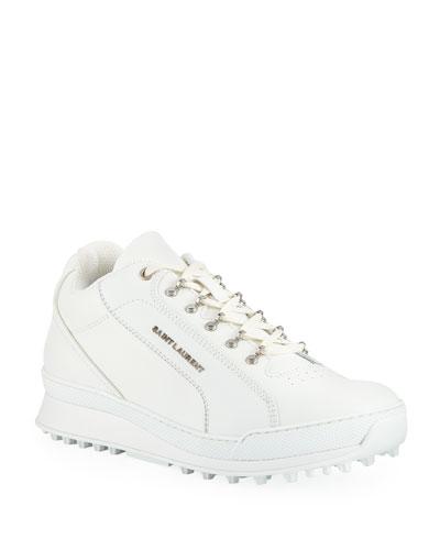 Men's Jump Low-Top Leather Sneaker