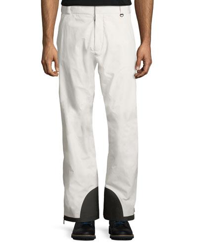 Men's Colorblock Nylon Trouser Ski Pants