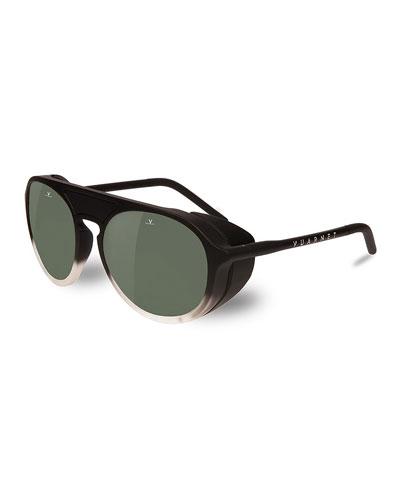 Men's Active Ice Round Nylon Sunglasses