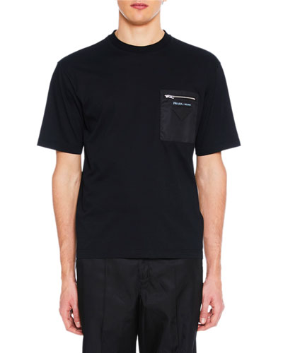Men's Girocollo Pocket T-Shirt