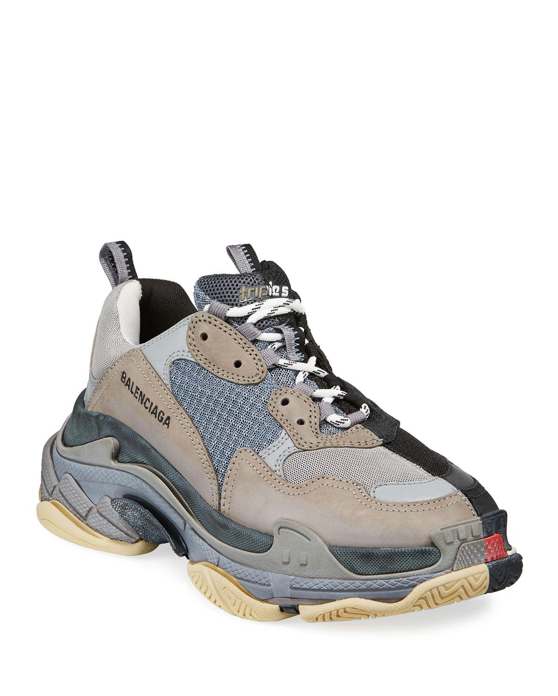 Men's Split Triple S Dad Sneakers