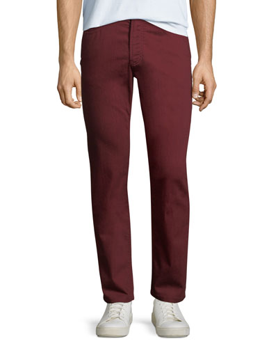 Men's Stretch-Cotton Twill Pants