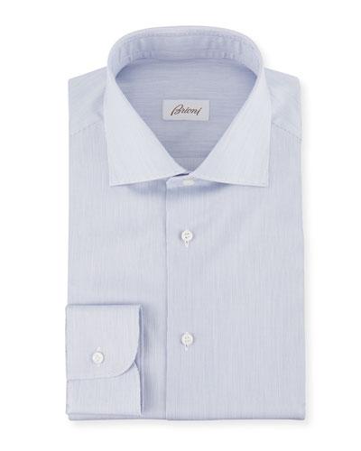 Men's Slim-Stripe Dress Shirt